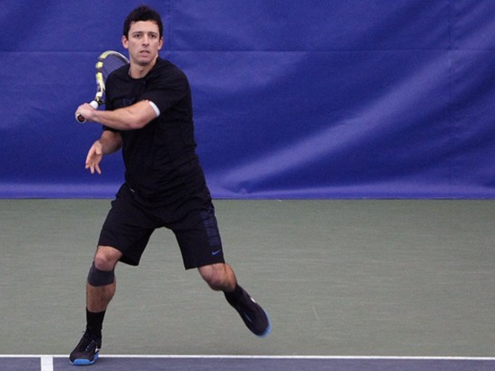 After missing the team's last match, Duke's No. 1-player Henrique Cunha will be back for the ITA National Indoor Championships in Seattle.