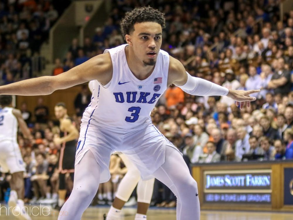 Tre Jones won't be winning any individual defensive awards, but the freshman is the reason Duke's man-to-man has gone to a new level this year.