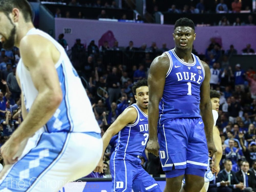 Zion Williamson was a man amongst boys against the Tar Heels, as he scored 31 points and brought down 11 boards.