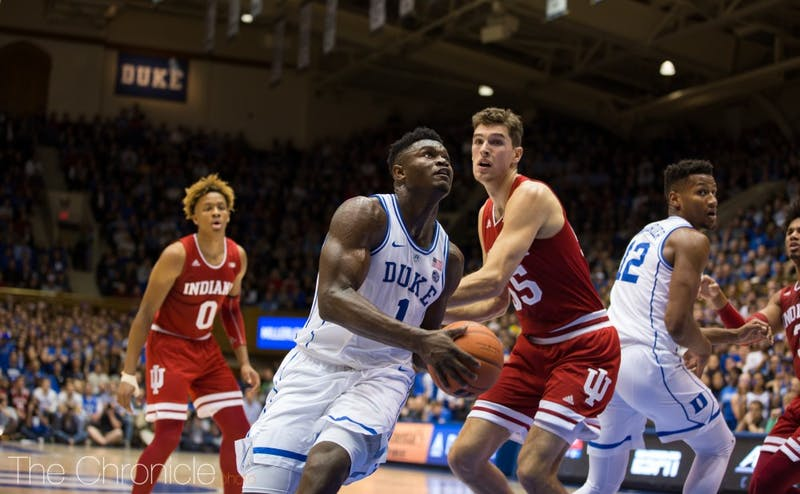 Zion Williamson continued his dominance Tuesday.