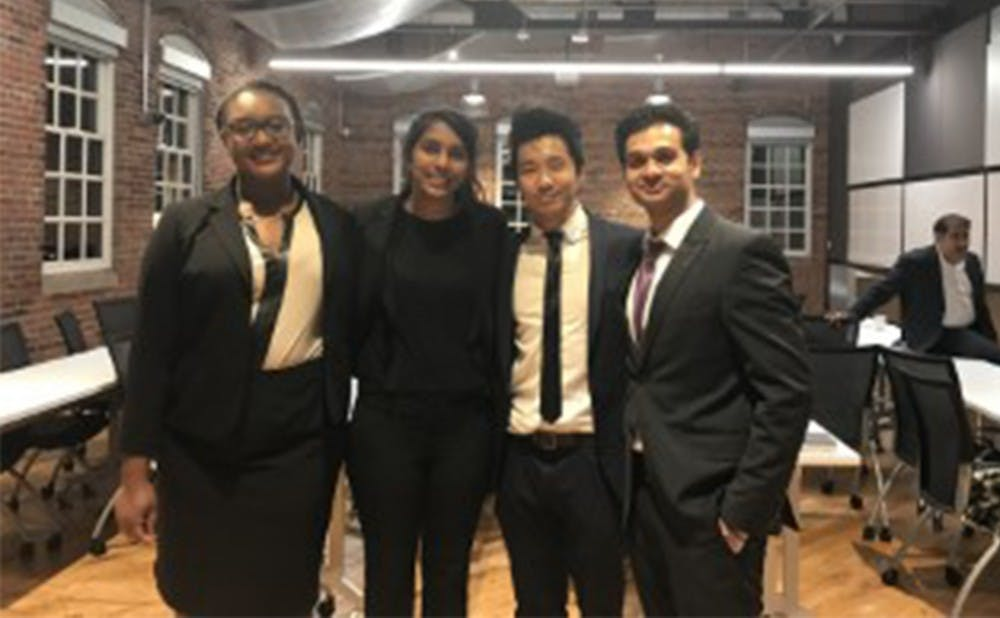 <p>Created by a Duke team, HaBaby seeks to provide nutrition for babies of refugees.</p>
