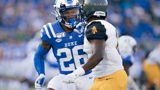Michael Carter II, the second Blue Devil taken in the draft, could use his considerable speed to contribute to the New York Jets.