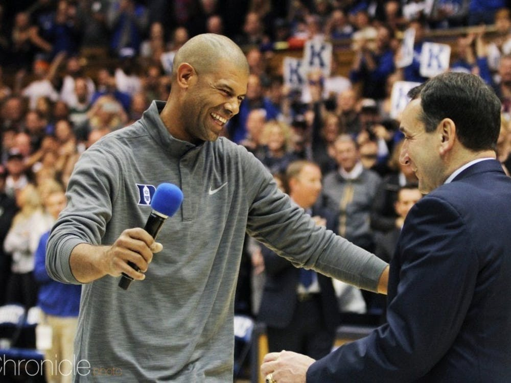 Shane Battier is the fourth Blue Devil to make the College Basketball Hall of Fame as a player.