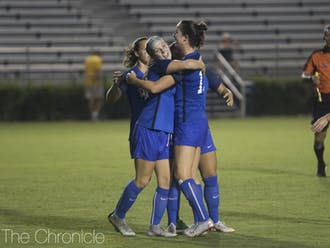 Ella Stevens' goal opened up the Blue Devils' ledger Thursday night as they rolled to second straight victory.