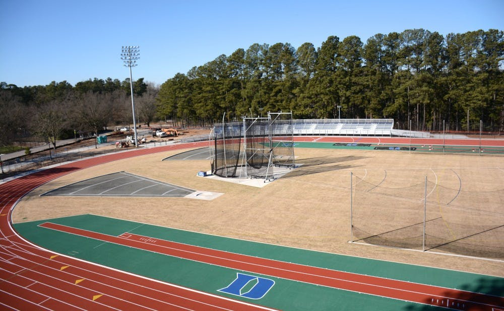 The new Morris Williams Track and Field complex will house the team's runners and throwers at the same venue.