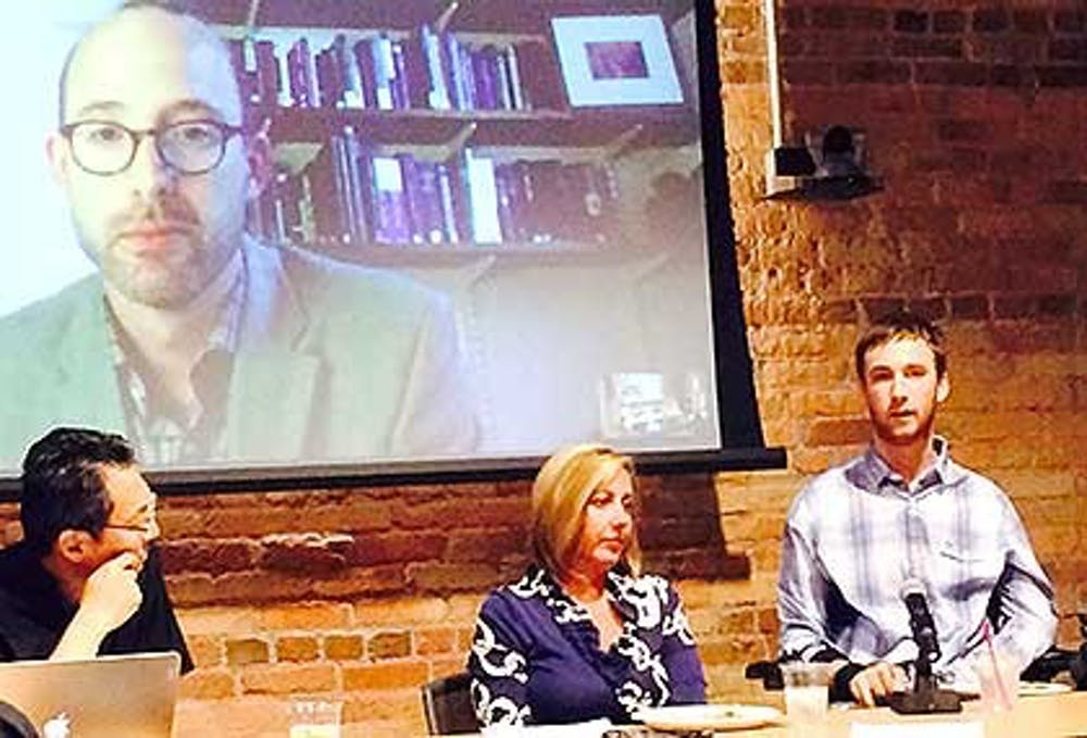 <p>Senior Jay Ruckelshaus participated in a discussion about disability advocacy as part of the Health Humanities initiative through the Franklin Humanities Institute.</p>