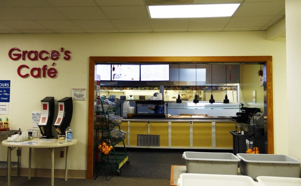 <p>After being passed over as a potential West Union eatery, Grace's Café will close at the end of the semester due to maintenance costs.</p>