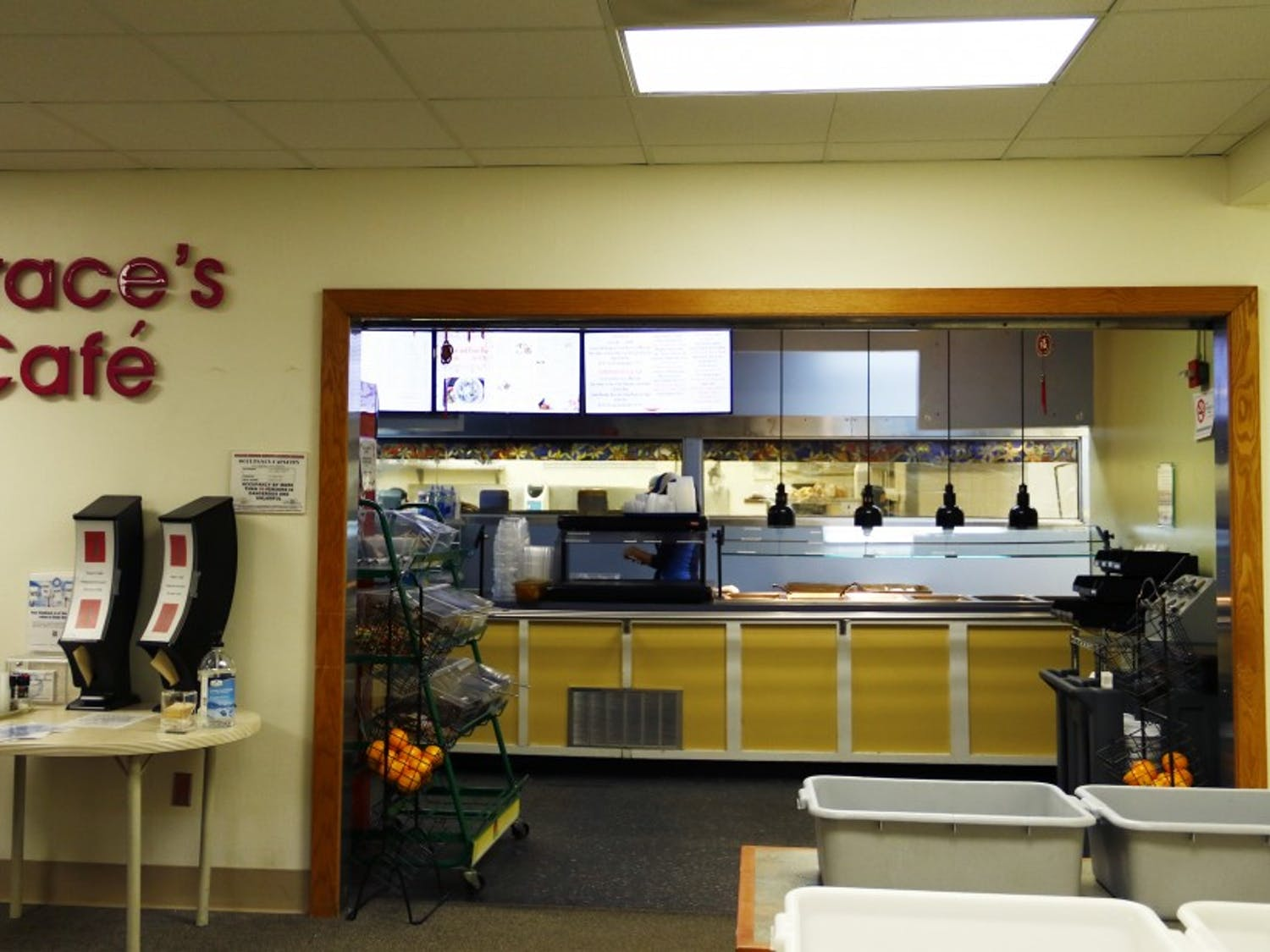 After being passed over as a potential West Union eatery, Grace's Café will close at the end of the semester due to maintenance costs.