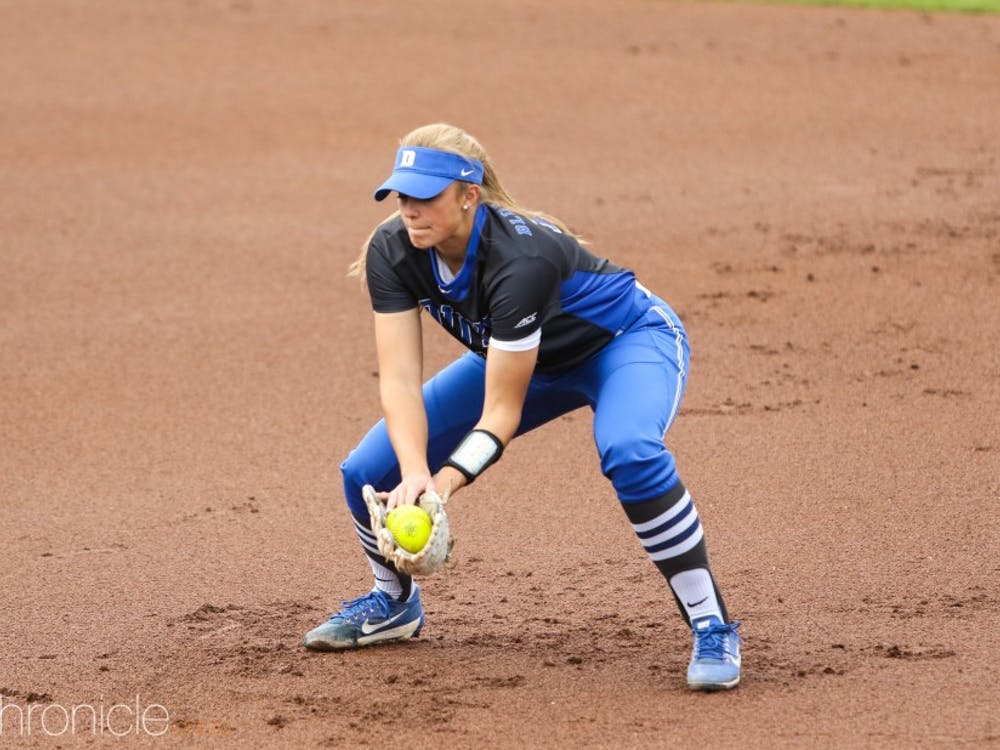 Peyton St. George helped combine for a complete-game shutout in Duke's second game against Appalachian State.