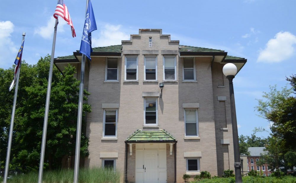 <p>East Residence Hall will be one of three dormitories replaced by a new residence hall that will be constructed near Bell Tower.</p>