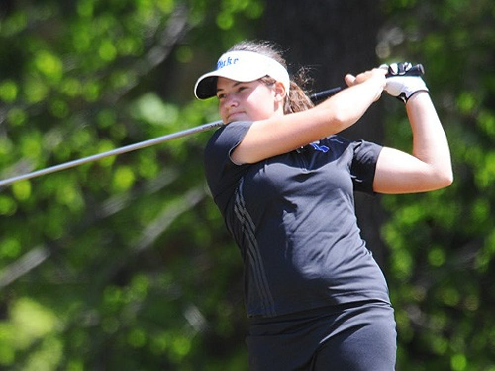 Courtney Ellenbogen fired a career-best 69 Thursday, but Duke failed to crack the top five in the tourney.