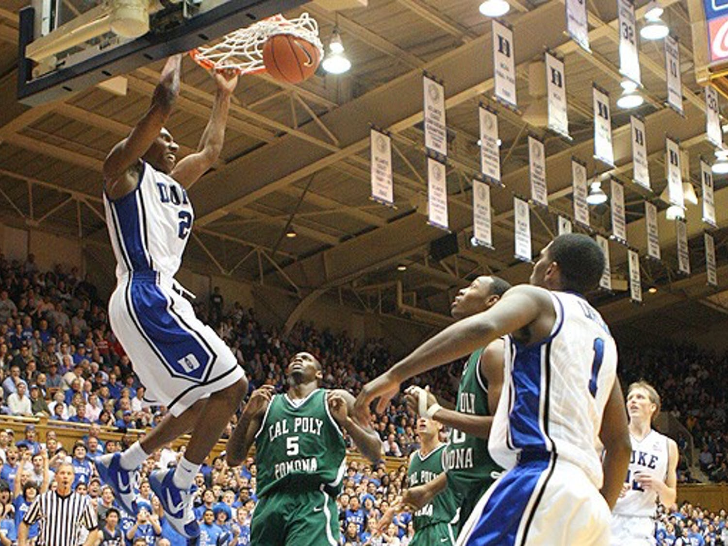 Nolan Smith was one of five players in double figures in Duke's final exhibition against Cal Poly Pomona.