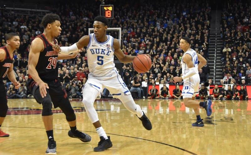 Duke fell into a 23-point hole Tuesday.