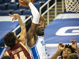Freshman center Mark Williams continued his late-season tear Tuesday.