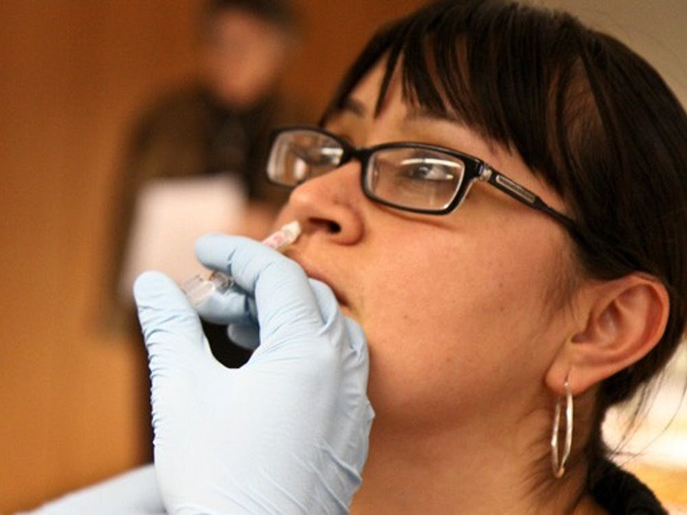 Although once in great demand and limited supply, swine flu vaccine stocks have piled up at the Duke University Medical Center.