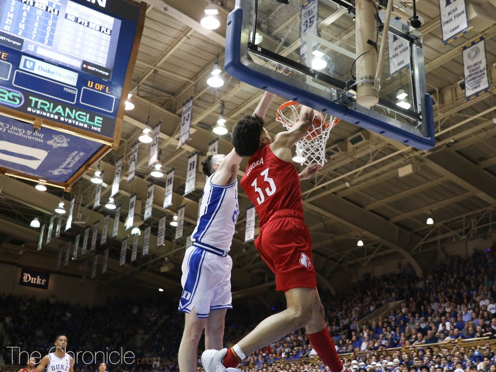 Duke couldn't pull out the victory despite limiting preseason ACC Player of the Year Jordan Nwora to six points.