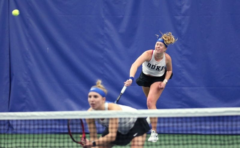 Kaitlyn McCarthy helped the Blue Devils to a dominant performance this weekend.