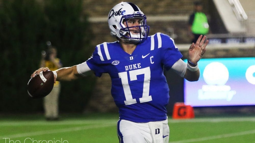 Daniel Jones passed for 3,027 yards and 24 touchdowns in 13 games for the New York Giants this past season.