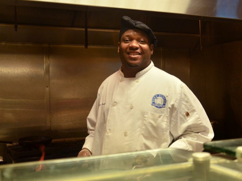Wallace Burrows serves up to 500 omelettes each day.