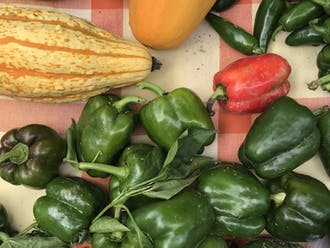 The Duke Farmer's Market takes place every Friday from 11 a.m. to 2 p.m. on the Duke Medicine Pavilion Greenway.