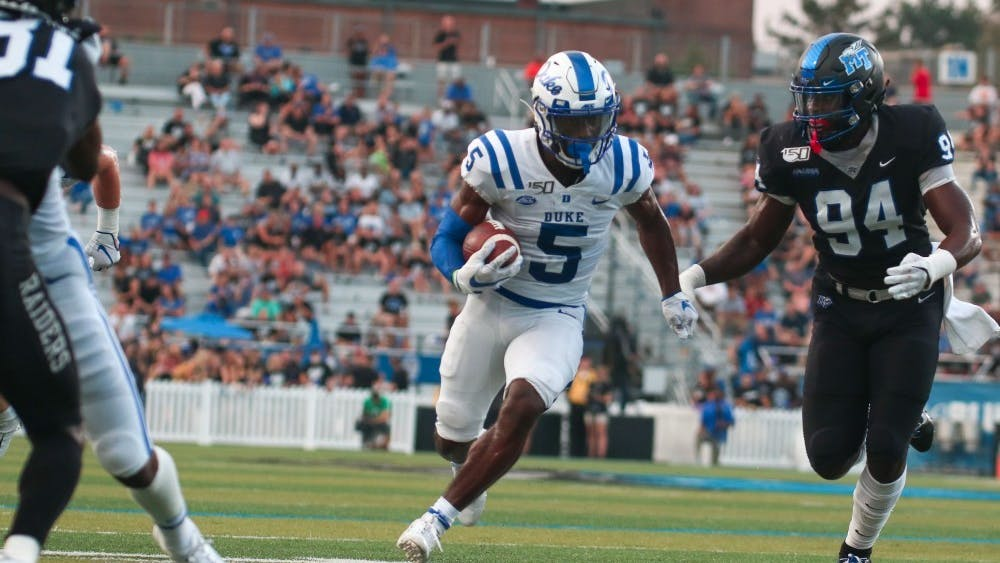 Duke will no longer be playing Middle Tennessee in its revised 2020 schedule after dominating the Blue Raiders en route to a 41-18 win last year.