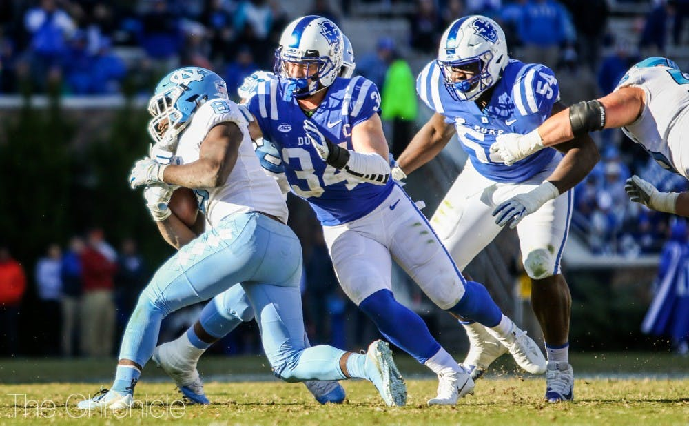 <p>Duke's defense will need to be locked in against the Tigers.</p>