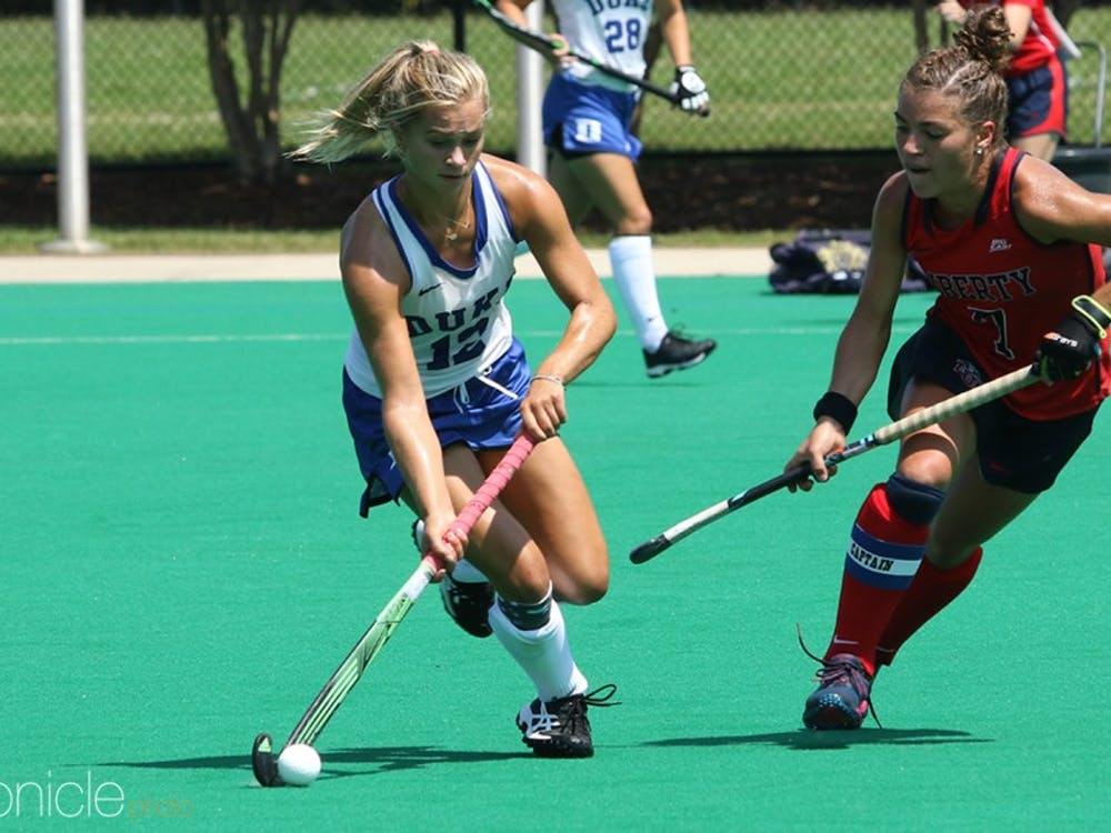 Junior Margaux Paolino has been instrumental in driving Duke's impressive offensive unit.