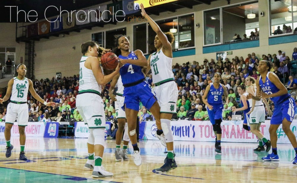 <p>The Blue Devils are 0-9 against Notre Dame since the Fighting Irish joined the ACC in 2013.&nbsp;</p>