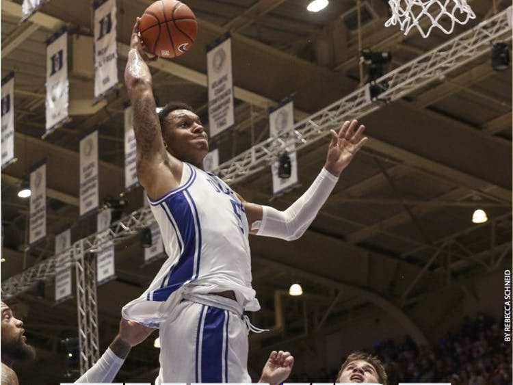 Duke men's basketball had its first preseason event with Countdown to Craziness Friday.