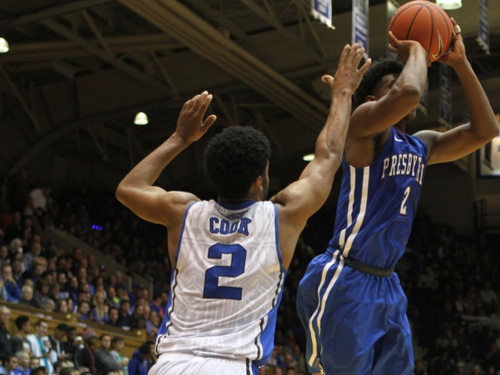 With his quick hands and agile feet, senior Quinn Cook is a nightmare for opposing ball-handlers and has been emboldened to take more risks this year with Jahlil Okafor backing him up.