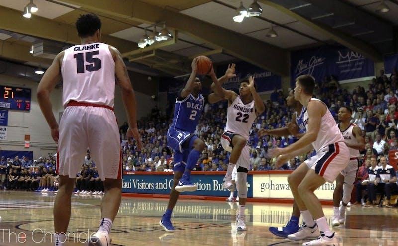 Gonzaga toppled Duke in November.