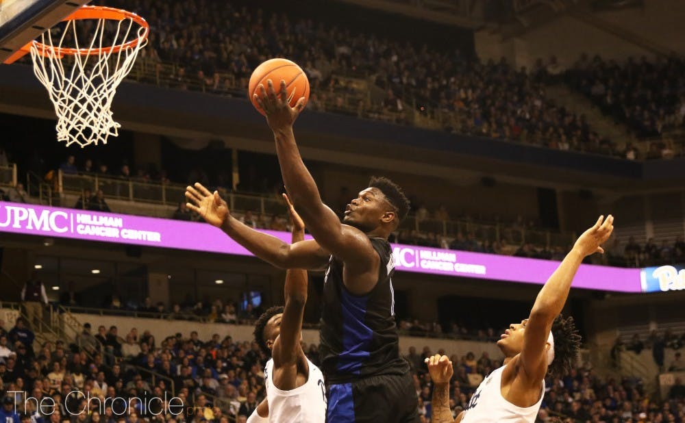 <p>Zion Williamson scored 25 points and had seven assists in Duke's big win against the Panthers.</p>