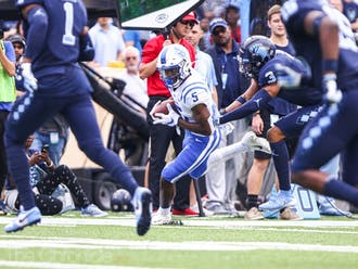 Sophomore receiver Jalon Calhoun will need to show off his big-play ability if Duke wants any chance at pulling off the upset.