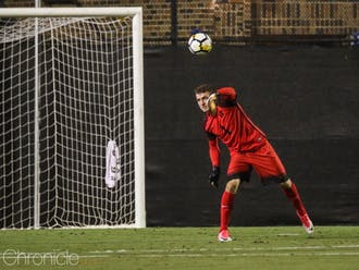 Will Pulisic could not stop the Demon Deacons offense in the second half Saturday.