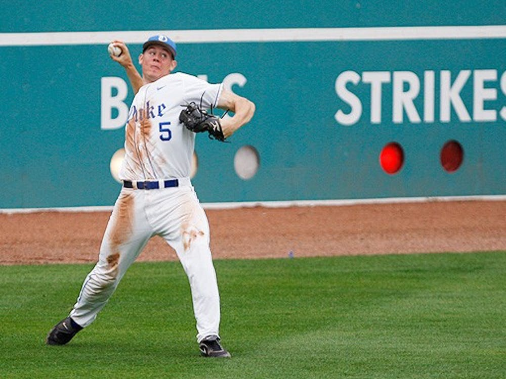 Brian Litwin's two-run double in the seventh inning Saturday gave Duke one of few leads against FSU.