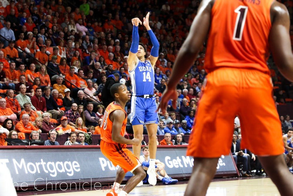 <p>Jordan Goldwire played a key role in Friday's win.</p>