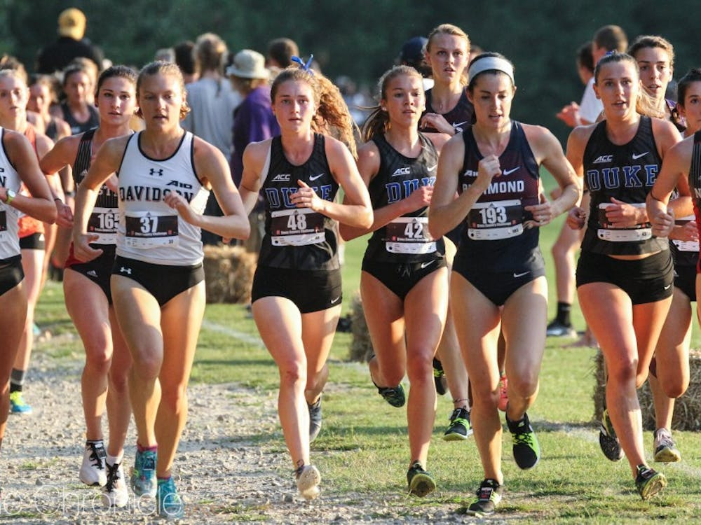 The Blue Devil women were split between North Carolina and Indiana this weekend.