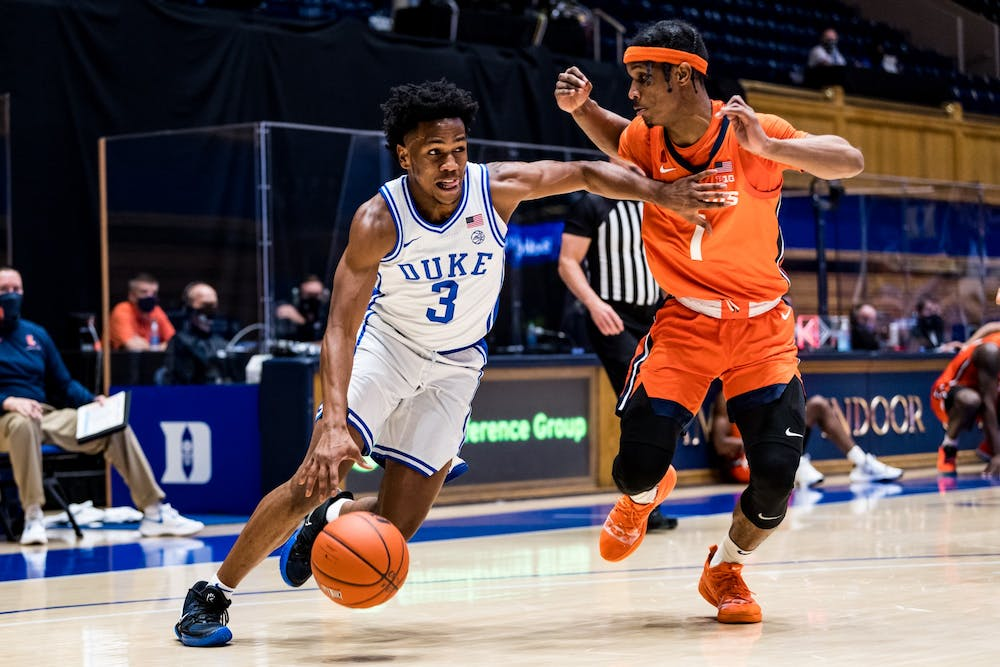 Freshman point guard Jeremy Roach has stepped up for the Blue Devils over the team's last two games.