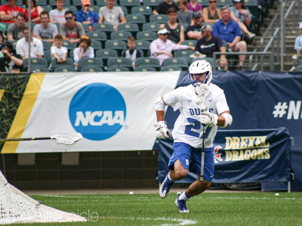Brad Smith's three goals led the Blue Devils.