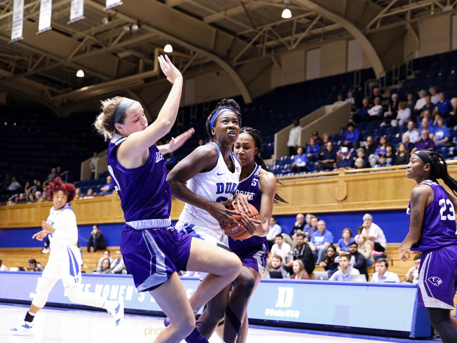 Akinbode-James has a high ceiling for this season if she can limit her turnovers and fouls.