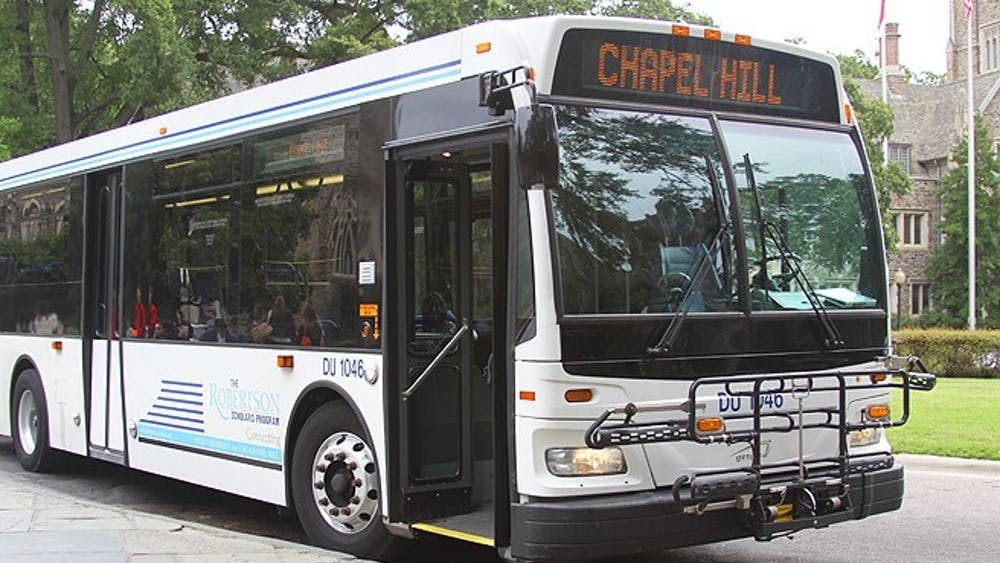 The Robertson Express Bus will now be operated by Carolina Livery.   Chronicle File Photo