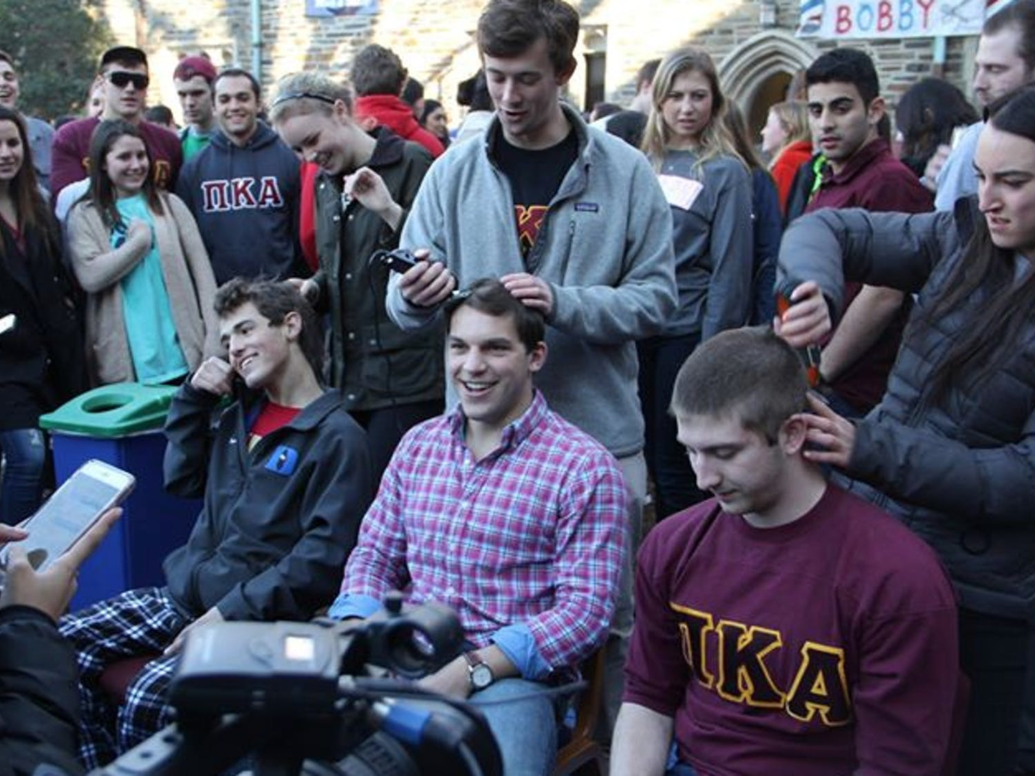 Last year, Pi Kappa Alpha raised more than $60,000 for cancer research andprograms at Duke Children's Hospital.