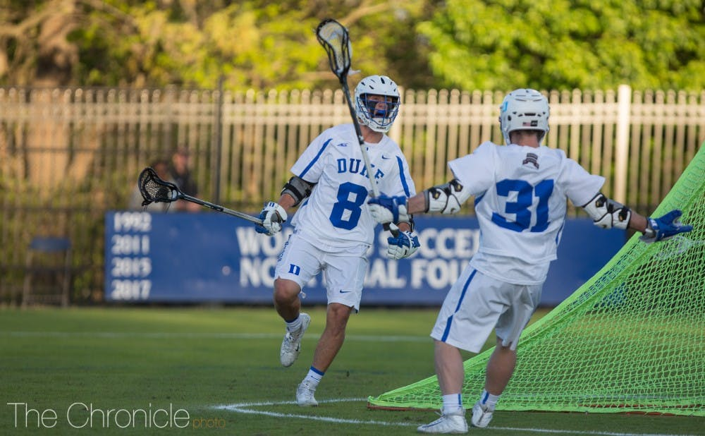 <p>The Blue Devils grabbed control in the second half of their final game before the ACC tournament.</p>