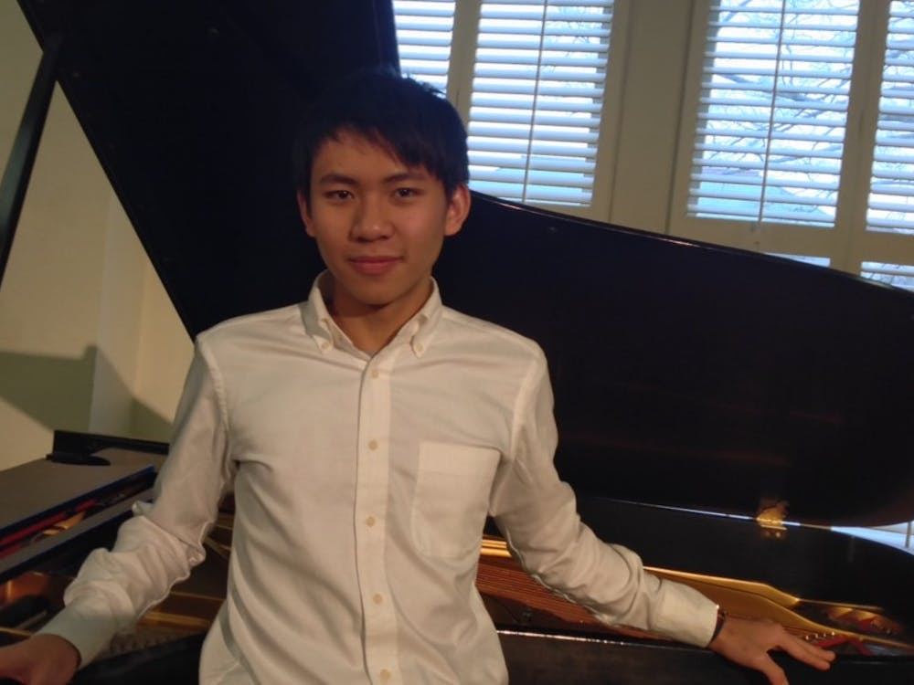 Senior Jerry Chia-Rui Chang, a pianist, won the DSO concerto competition for the second time in his four years at Duke.