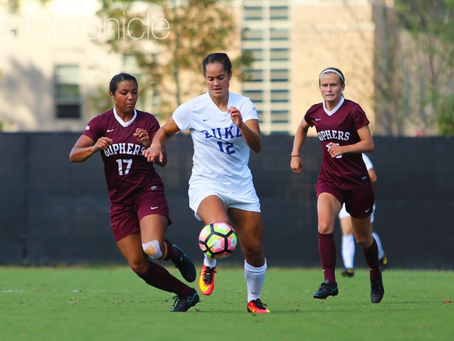 Kayla McCoy and Duke's forwards will look to capitalize on offensive chances against an equally potent West Virginia side.