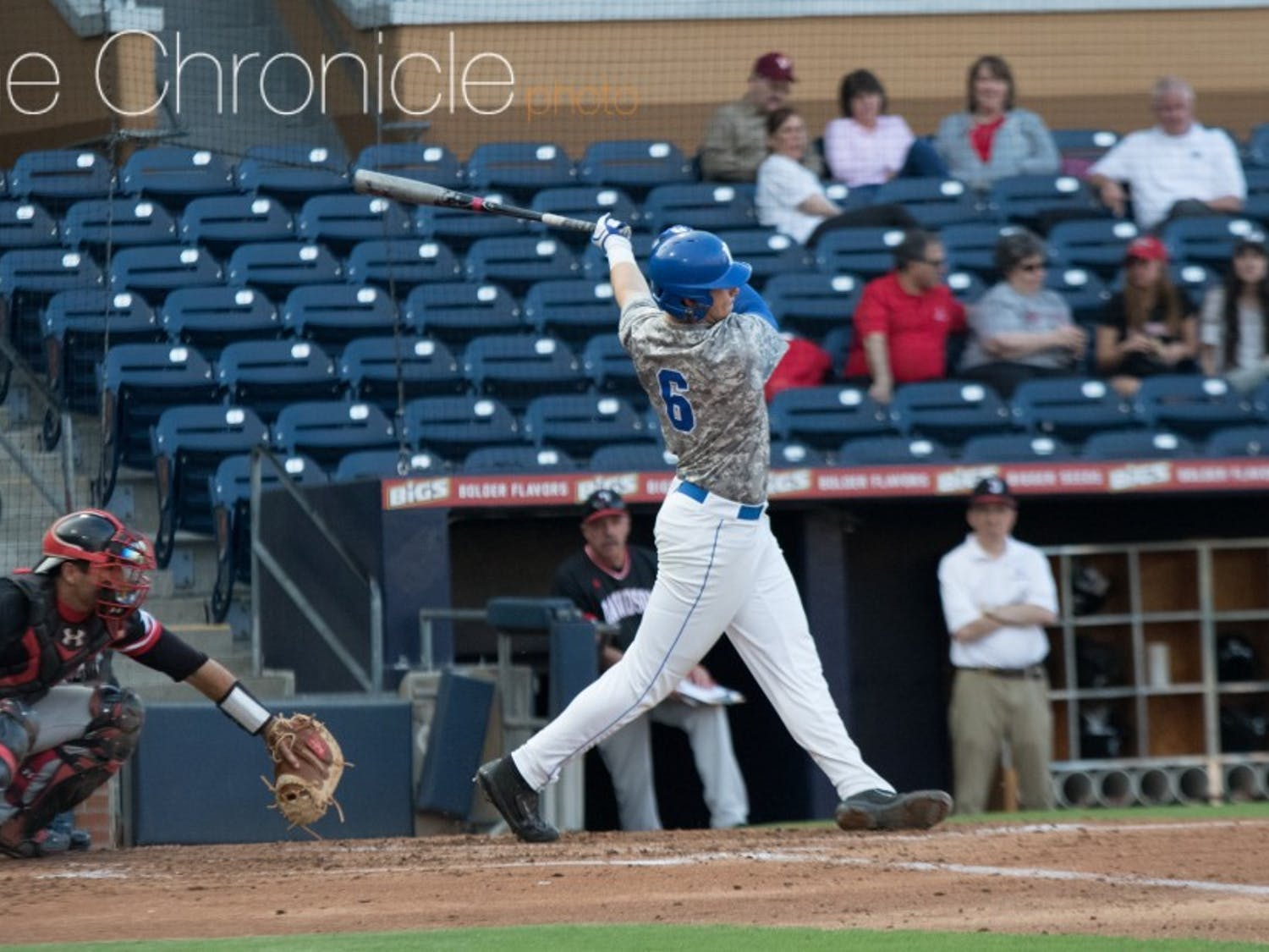 Jack Labosky and the Blue Devils have racked up at least 10 hits in three straight games.