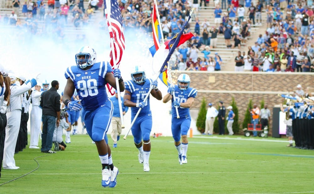 <p>Duke football had the highest APR score in the nation with 995 points for the 2011-15 period.</p>