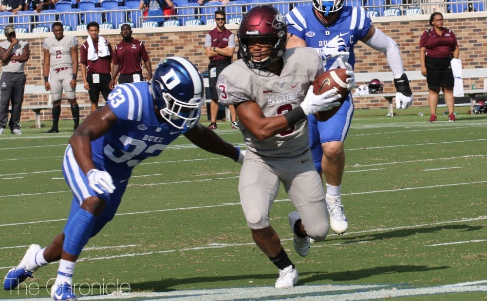 Redshirt senior Leonard Johnson will be one of the players anchoring a very experienced secondary.