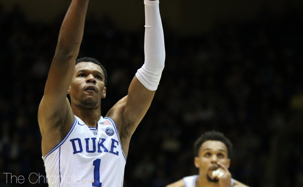 <p>Can Trevon Duval be a distributor for the No. 1 Blue Devils and take them to the Final Four?&nbsp;</p>