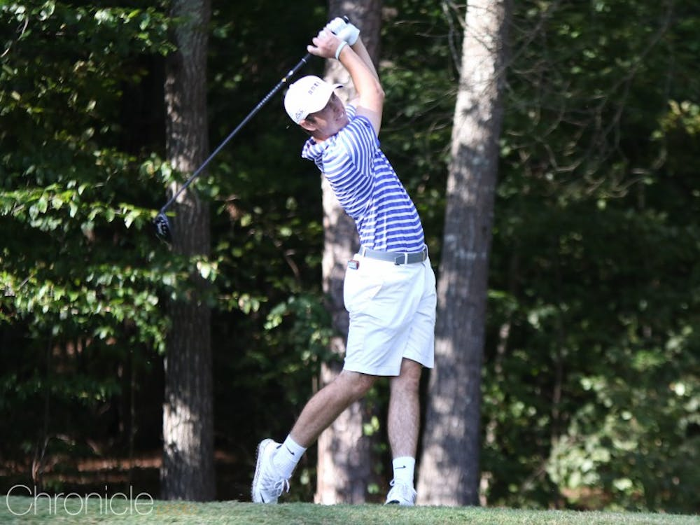 Duke finished in second place ahead of two other top-25 teams on its home course.